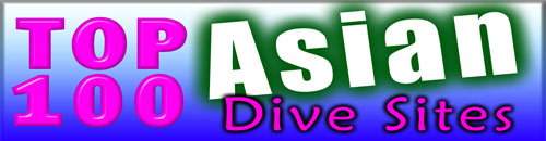 Go to the Top 100 Asian Dive Sites website